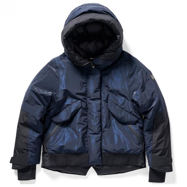Holden - Women's Cropped Down Alpine Jacket - Skijacke Gr L schwarz/blau WJS-4-JK-NVY-L