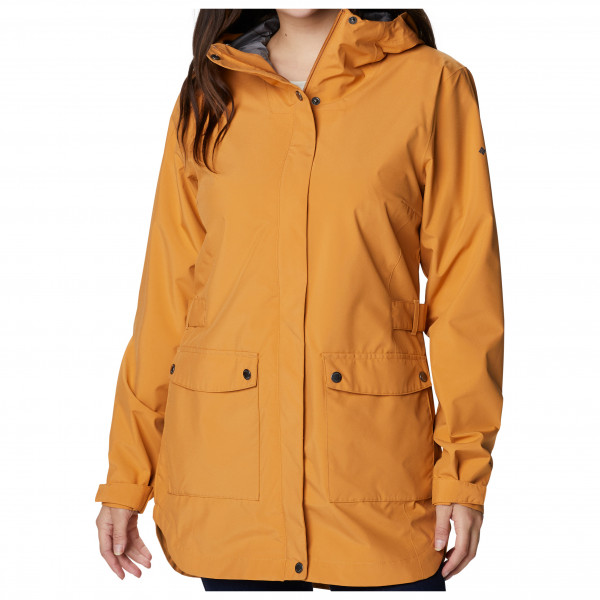 Columbia - Women's Here And There Trench Jacket - Parka Maat L, Oranje/Bruin