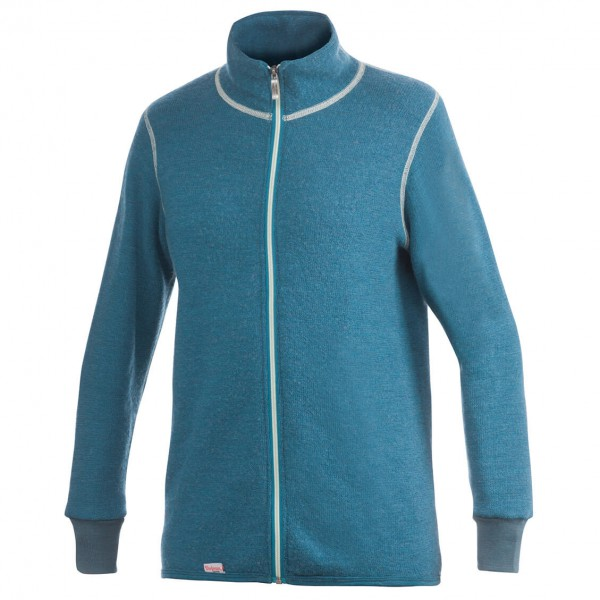 Woolpower - Full Zip Jacket 400 Color Collection - Wolljacke Gr XXS blau Preisvergleich