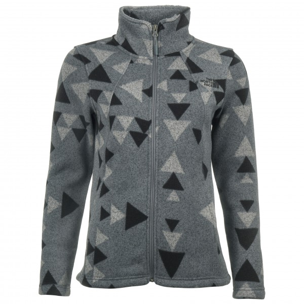 The North Face - Women´s Crescent Full Zip - Fleecejacke Gr XS grau/schwarz Preisvergleich