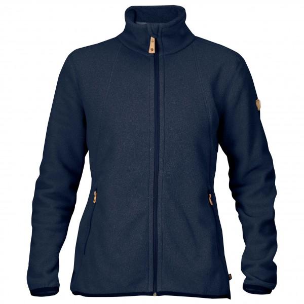 Fjllrven - Womens Stina Fleece - Fleece Jacket Size L  Blue/black