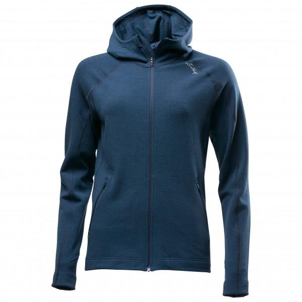 Lundhags - Women´s Merino Hoodie Merinopullover Gr L;M;S;XS blau;schwarz