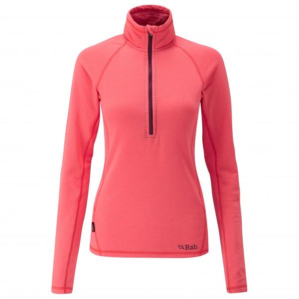 Rab - Women´s AL Pull-On Fleecepullover Gr 8 rot/rosa Sale Angebote