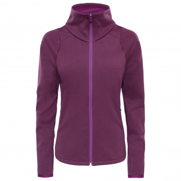 The North Face - Women´s Versitas Jacket Fleecejacke Gr L;S schwarz;lila