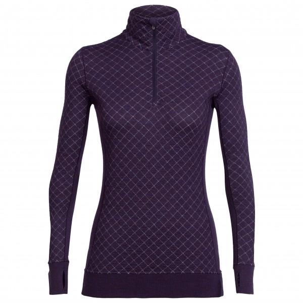 Icebreaker Affinity Thermo LS Half Zip - Langarmshirt Women (Größe: S) jetztbilligerkaufen