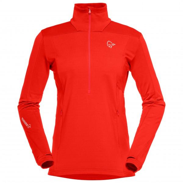 Norrøna - Women's Falketind Warm1 Stretch Sweater Gr M rot