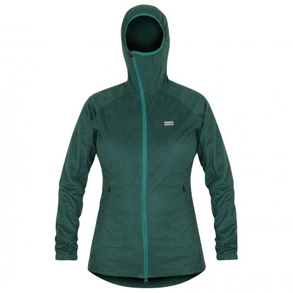 Páramo - Women´s Alize Fleece Jacket - Veste polaire taille XL, vert olive/turquoise/noir
