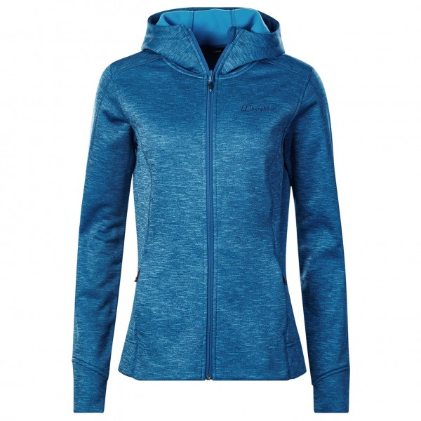 Berghaus - Women's Kamloops Hooded Fleece Jacket Gr 14 blau