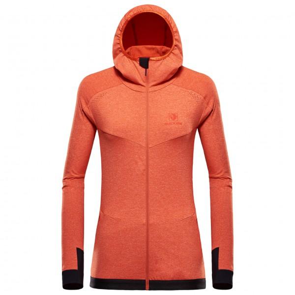 Black Yak - Women's Medium Weight Yak Fleece - Fleecejacke Gr XS rot/orange