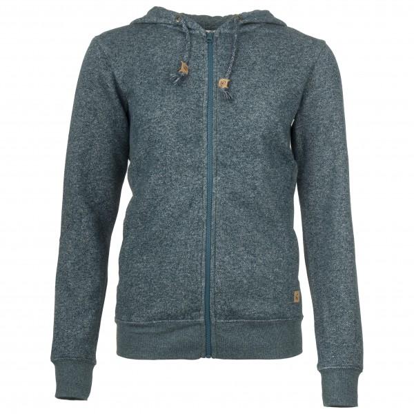 tentree - Women´s Wapta Full Zip Hoodie - Veste polaire taille XL, violet/gris/noir