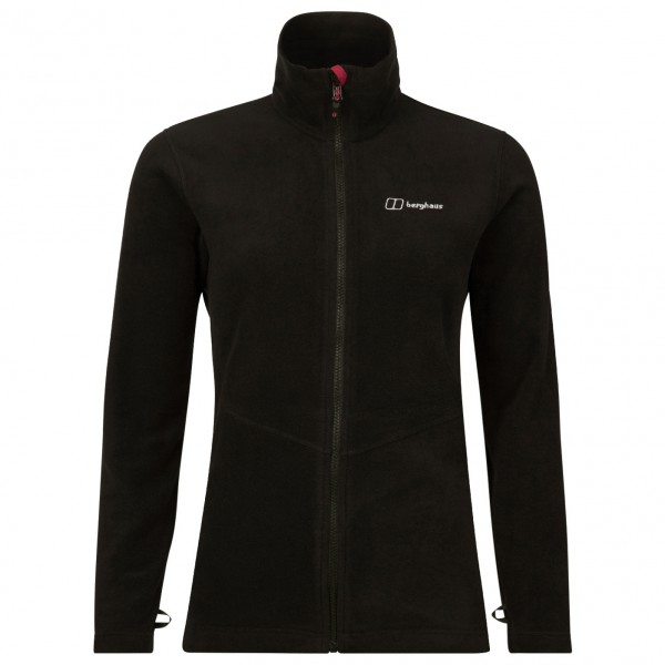 Berghaus - Womens Prism Micro Pt Interactive Fleece Jacket - Fleece Jacket Size 8  Black