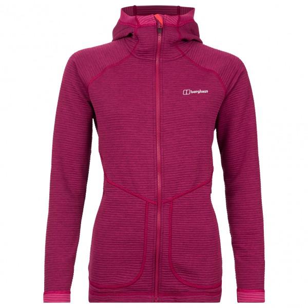 Berghaus - Women's Redonda Hooded Fleece Jacket Gr 14 rosa/lila