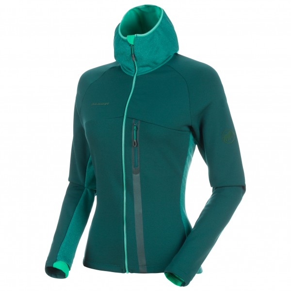 Mammut - Women´s Aconcagua Pro ML Hooded Jacket taille XS, turquoise