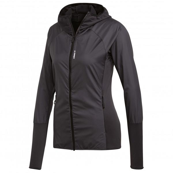 adidas - Women´s Skyclimb Fleece Jacket - Fleecejacke Gr 40 schwarz Preisvergleich