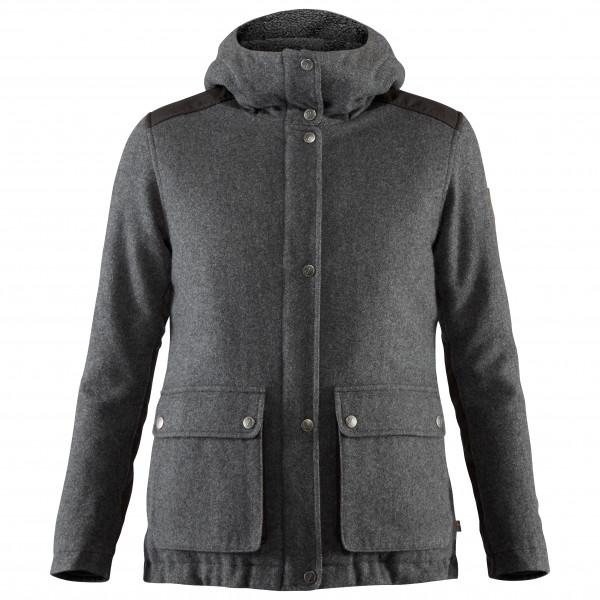 #Fjällräven – Women's Greenland Re-Wool Jacket – Wolljacke Gr M schwarz/grau#