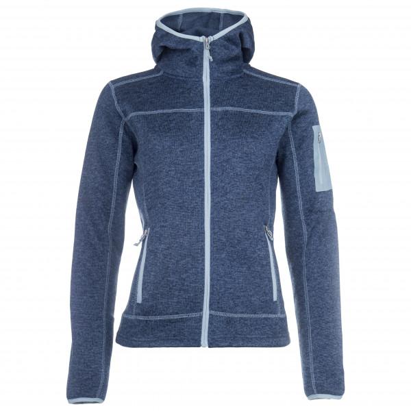 #Stoic – Women's Flatfleece Hoody Jacket Heden – Fleecejacke Gr 46 blau/grau#