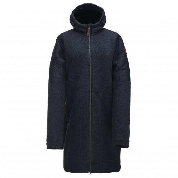 2117 Of Sweden - Womens Merino Hoody Kusten - Merino Jacket Size 44  Blue/black