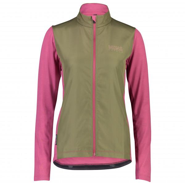 Mons Royale - Women's Phoenix Wind Jersey - Fahrradjacke Gr XS grau/rosa 100285-1022-157-XS