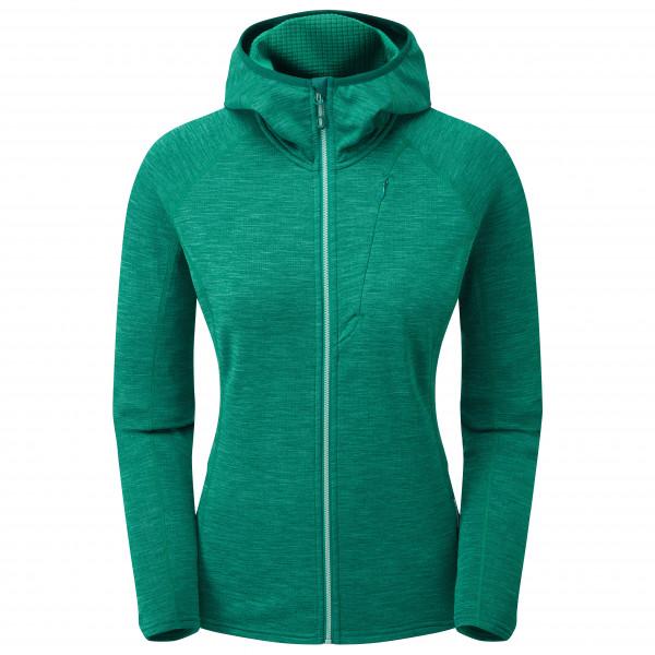 Montane - Womens Protium Hoodie - Fleece Jacket Size S  Turquoise