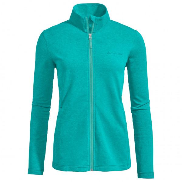 Vaude - Womens Valua Fleece Jacket - Fleece Jacket Size 38  Turquoise