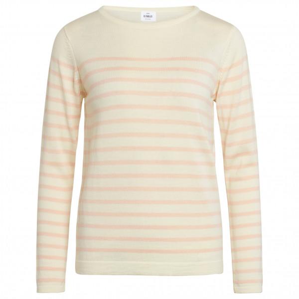 #Klitmøller Collective – Women's Paula Knitted – Merinolongsleeve Gr L weiß/beige#