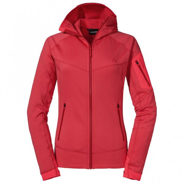 Schöffel - Women's Fleece Hoody Bieltal - Fleecevest, roze/rood