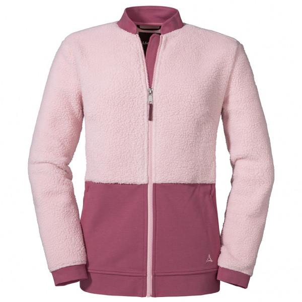 Schöffel - Women's Fleece Jacket Stavanger - Fleecevest, roze/grijs