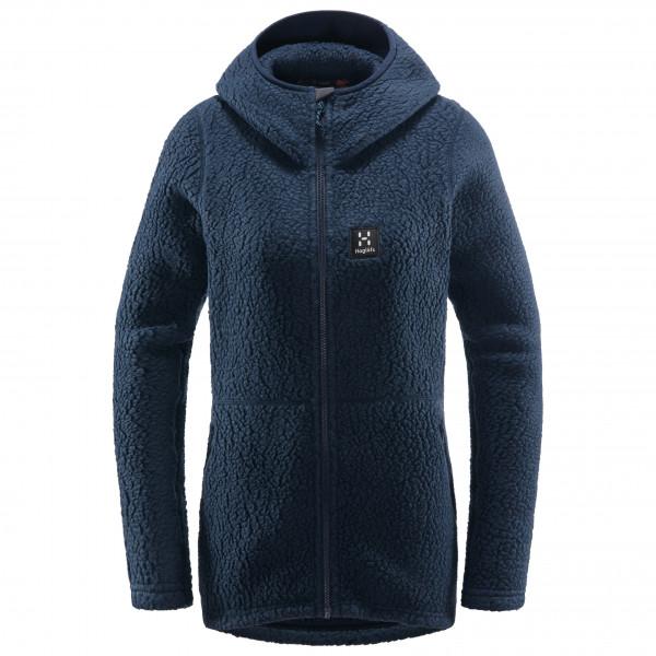 Haglöfs - Women's Pile Hood - Fleecevest, zwart/blauw