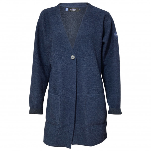 Ivanhoe Of Sweden - Womens Bianca Cardigan Size 40  Blue/black