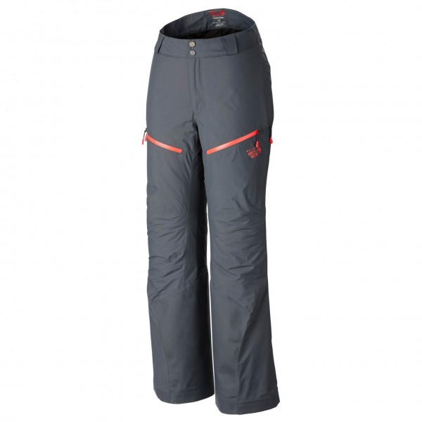 Mountain Hardwear - Women´s Seraction Insulated Pant Gr L grau/schwarz Sale Angebote