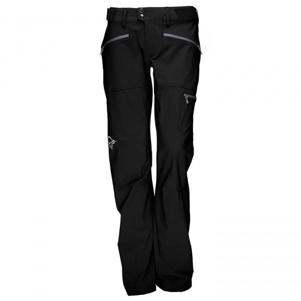 Norröna - Women's Falketind Flex1 Pants - Tourenhose Gr. S schwarz