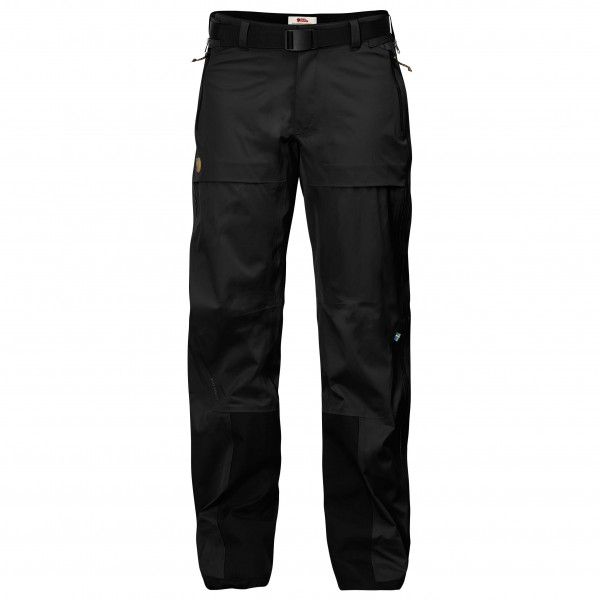 #Fjällräven – Women's Keb Eco-Shell Trousers – Regenhose Gr XS – Regular – Fixed Length schwarz#