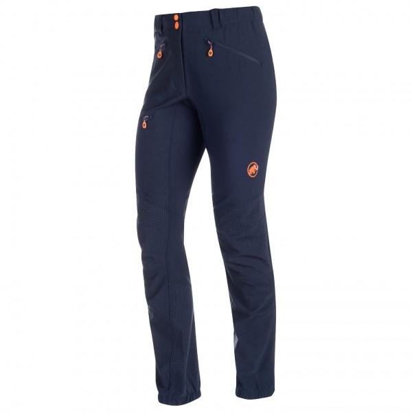 Mammut - Eisfeld Advanced Softshell Pants Women - Tourenhose Gr 40 - Regular schwarz/blau Preisvergleich