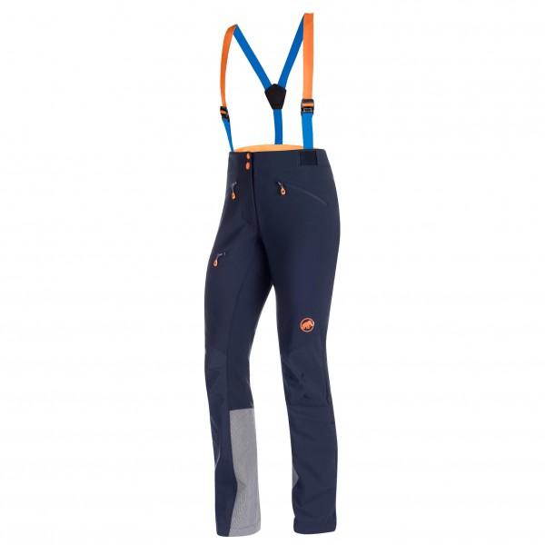Mammut - Eisfeld Guide Softshell Pants Women - Tourenhose Gr 34 blau/schwarz/grau Preisvergleich
