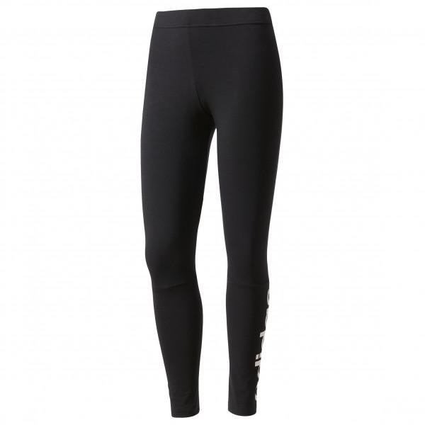 adidas - Women´s Essential Lin Tight - Trainingshose Gr XL schwarz/weiß Preisvergleich