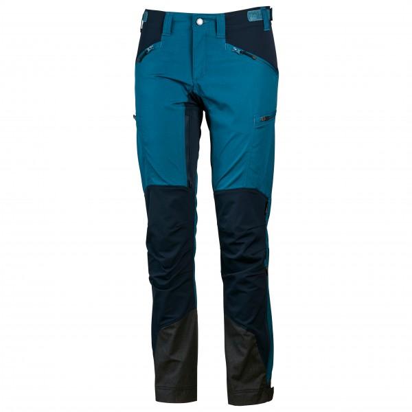 Lundhags - Womens Makke Pant - Softshell Trousers Size 36 - Long  Black/blue