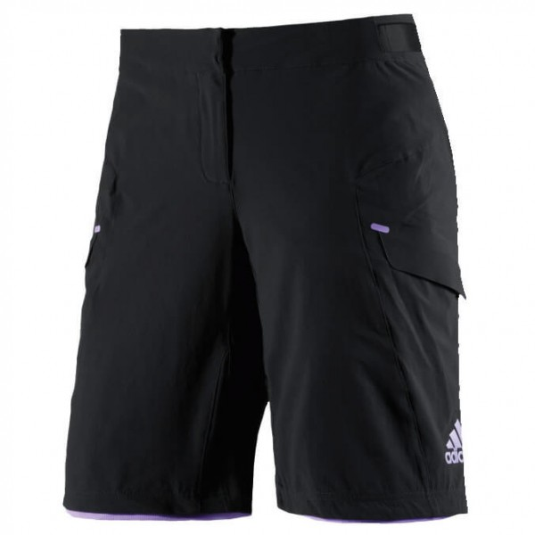 adidas Women´s Trail Race Shorts Fietsbroek maat XS zwart