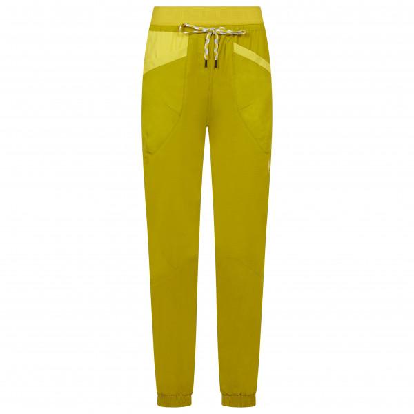 La Sportiva - Womens Mantra Pant - Climbing Trousers Size M  Orange/yellow