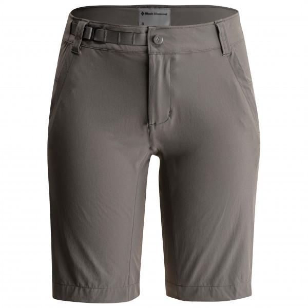 Black Diamond - Women´s Valley Shorts Kletterhose Gr XL grau/schwarz