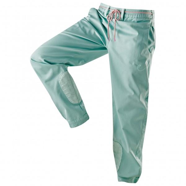 Edelrid - Women´s Kamikaze Pants Kletterhose Gr S;XS;XXS rosa;türkis/grau