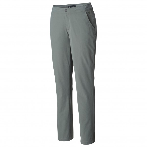 Mountain Hardwear - Women's Right Bank Lined Pant Gr 2 - Length: 30'' grau/schwarz