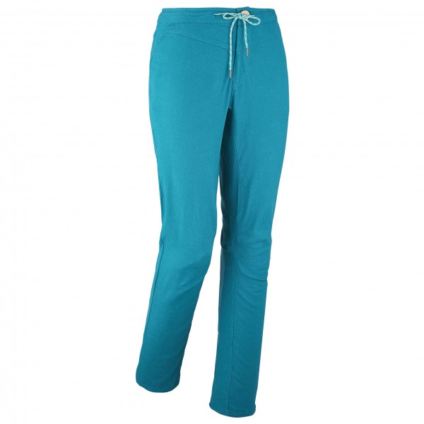 Millet - Women´s LD Babilonia Hemp Pant - Kletterhose Gr S türkis/blau