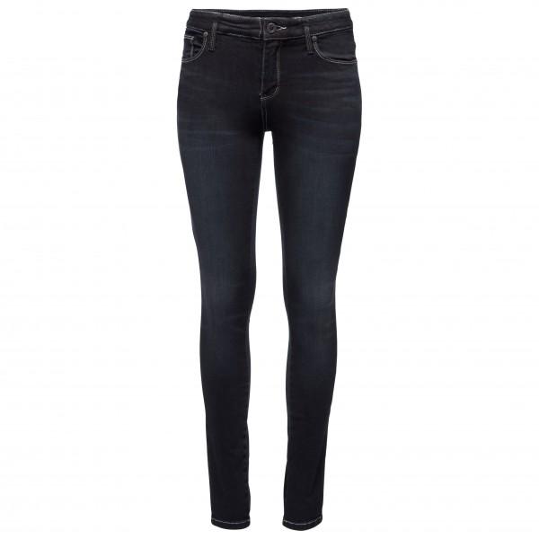 Black Diamond - Womens Forged Denim Pants - Climbing Trousers Size 4 - Length: 30  Black