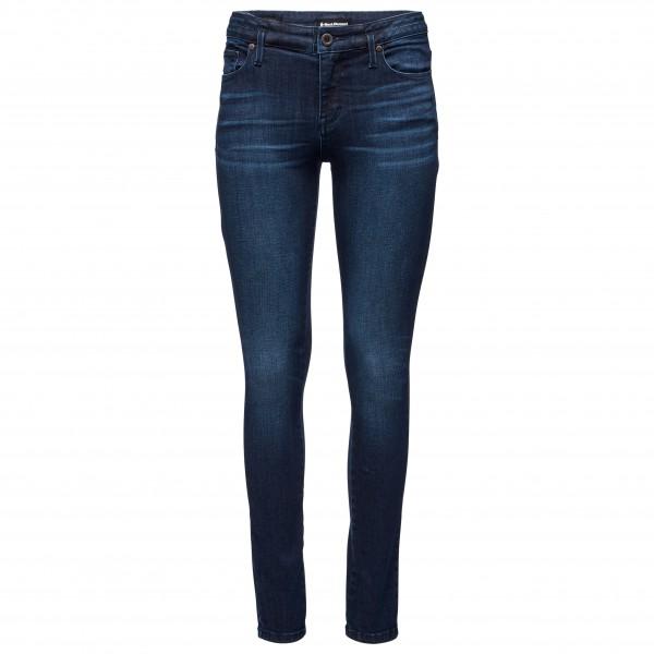 Black Diamond - Womens Forged Denim Pants - Climbing Trousers Size 2 - Length: 30  Blue/black