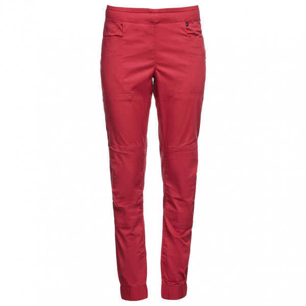 Black Diamond - Womens Notion Sp Pants - Climbing Trousers Size Xl  Red