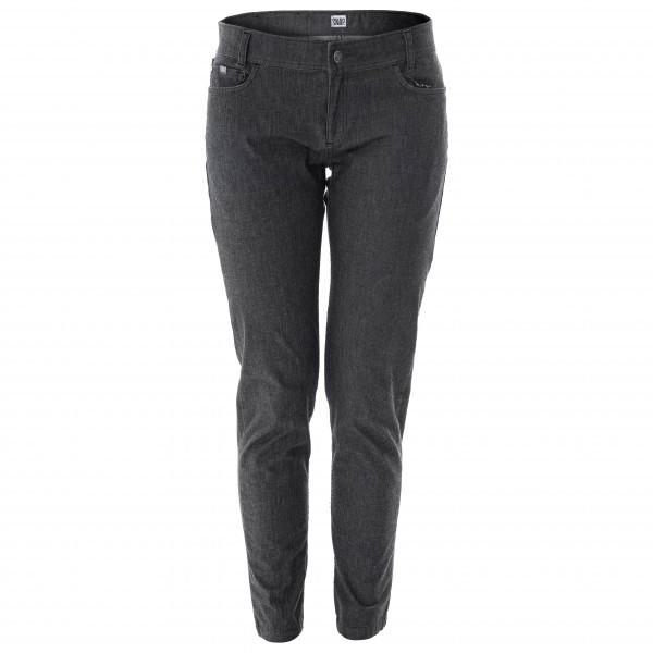 Snap - Womens Skinny Jean Pants - Climbing Trousers Size L  Black/grey