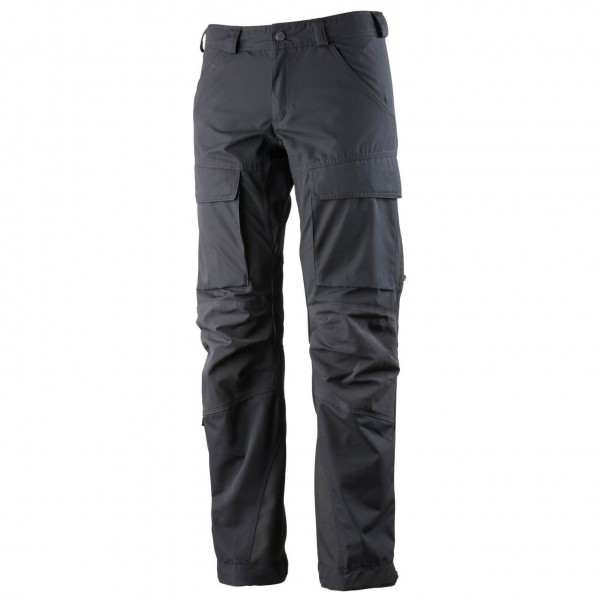 Lundhags - Womens Authentic Pant - Walking Trousers Size D22 - Short / Wide  Black