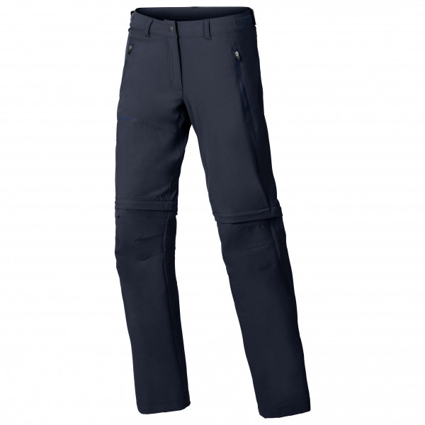 Vaude - Womens Farley Stretch Zo T-zip Pants - Walking Trousers Size 44 - Regular  Black