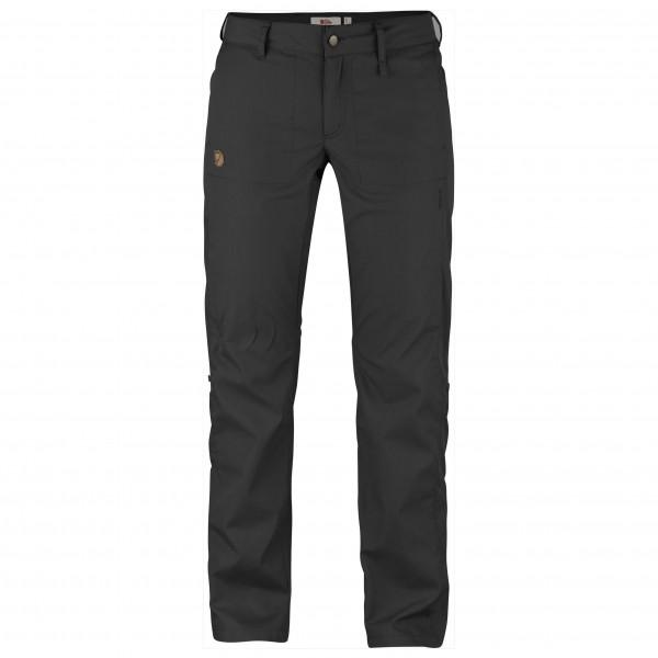 Fjällräven Abisko Shade Trousers Women - Damenhose - dark grey 030 - Gr.38