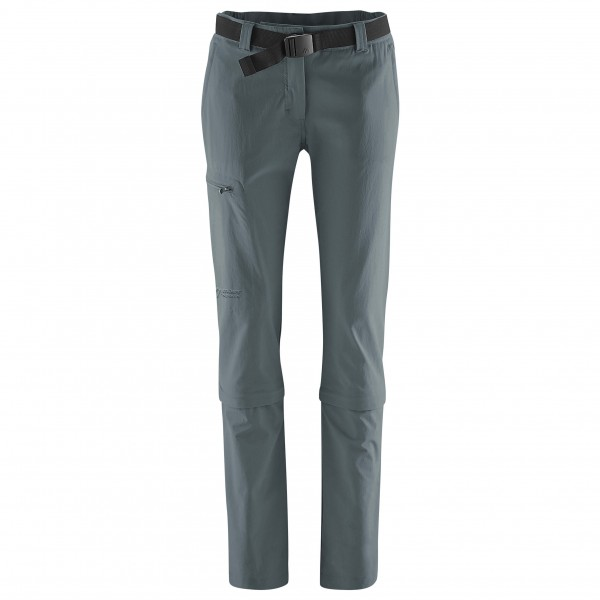 Maier Sports - Womens Arolla - Walking Trousers Size 88 - Long  Grey/black/purple
